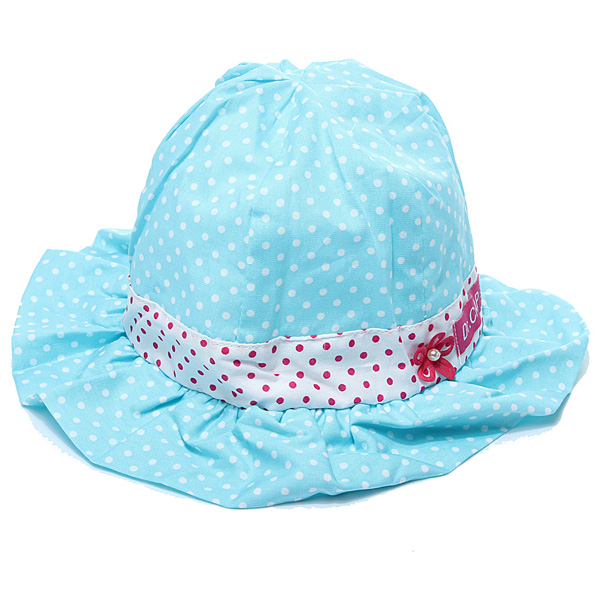 Toddler  Sun Polka Dot Cap