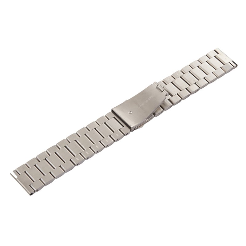 20mm Watch Band Stainless Steel Wrist Link Straps for Garmin