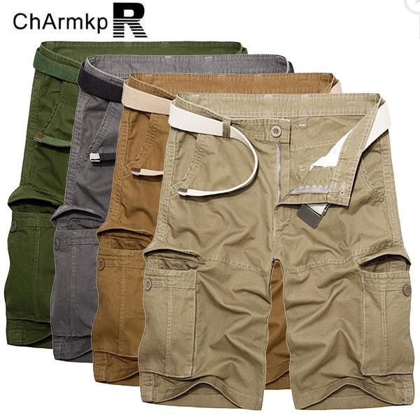 ChArmkpR Plus Size 30-46 Cargo Shorts