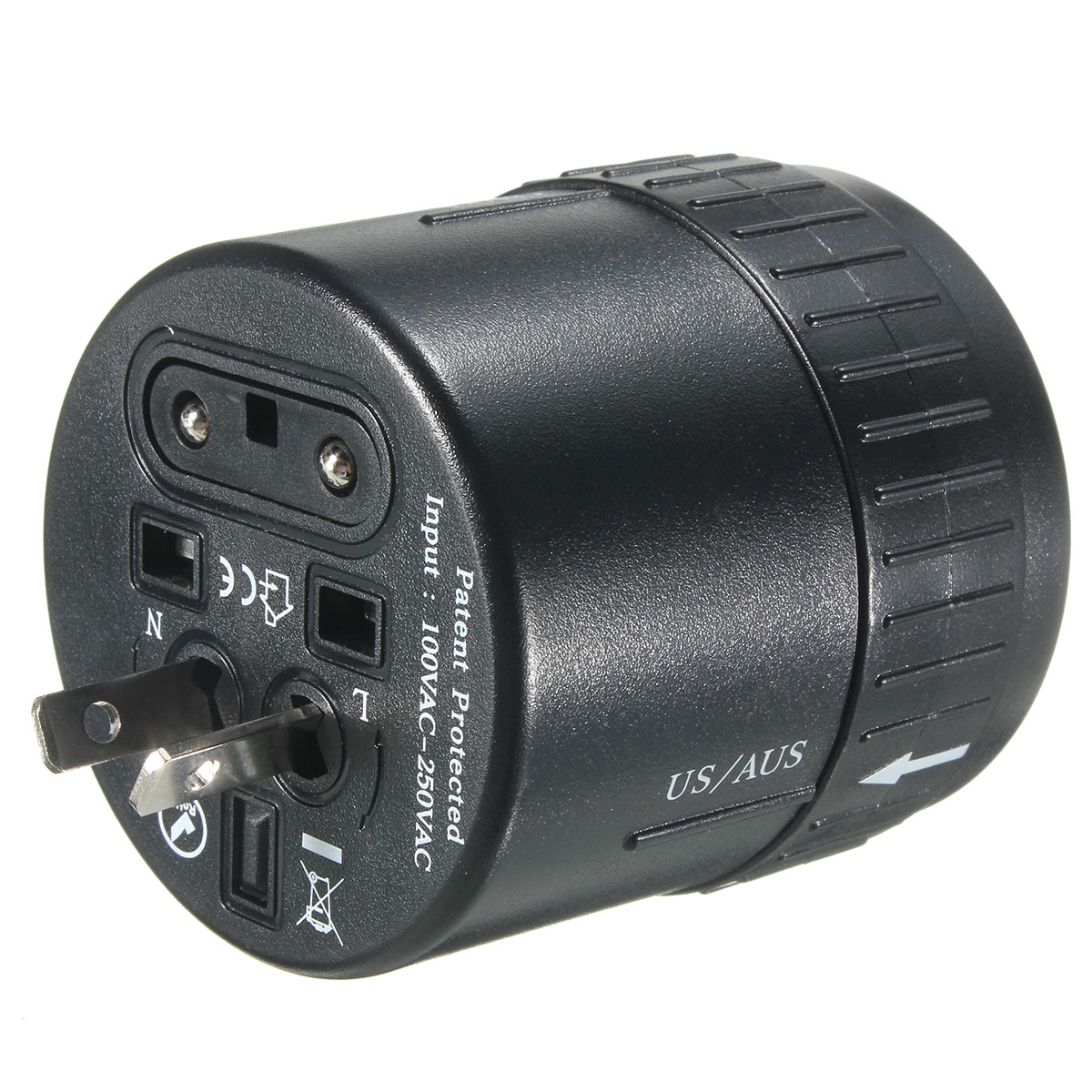 Universal Travel Adapter Ac Power Multi Plug Charger
