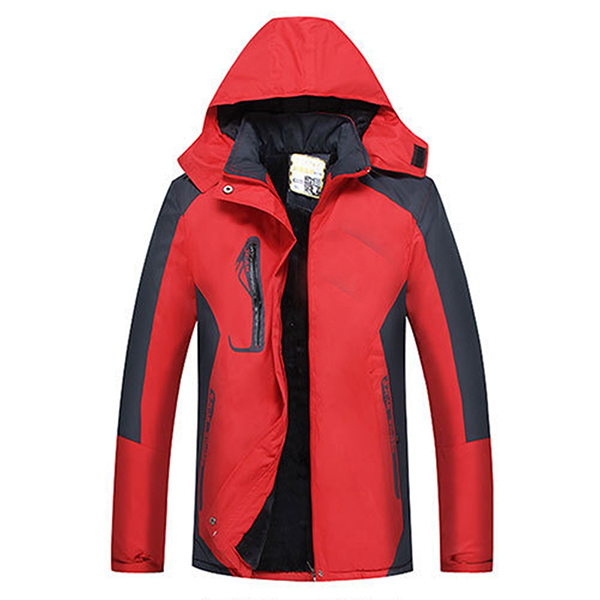 Women Outdoor Waterproof Windproof Thick Warm Mountaineering Jackets