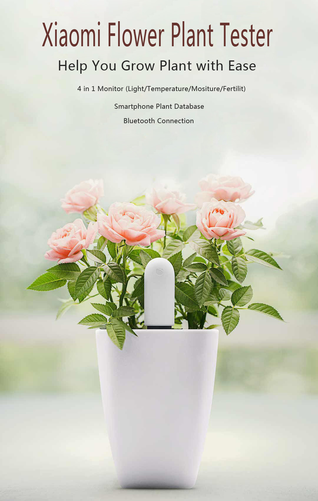 Original Xiaomi 4 in 1 Plant flower Tester