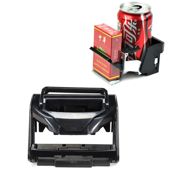 Multifunctional Car Drink Beverage Holder Phone Sundry Stand Bottle Stand Black