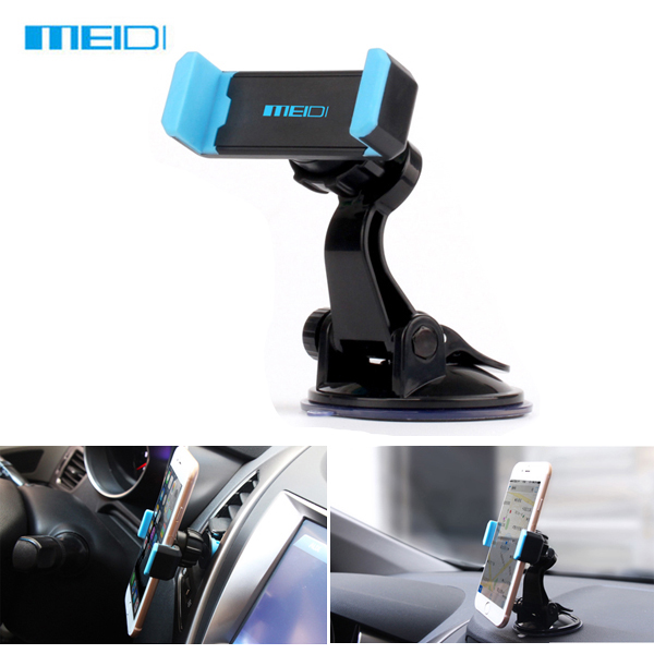MEIDI Car Multifunction Phone Holder Air Vent Windshield Holder Stand Adjustable Support 6.0 inch rear air outlet dashboard nozzle vents air conditioning vent for audi a3 2014 2015 8v0 819 203