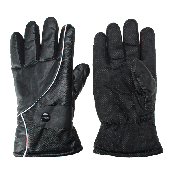 Men Winter Warm Full Finger Anti-Skidding Gloves For Motorcycle  Riding