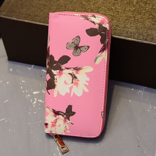 Butterfly Long Wallet