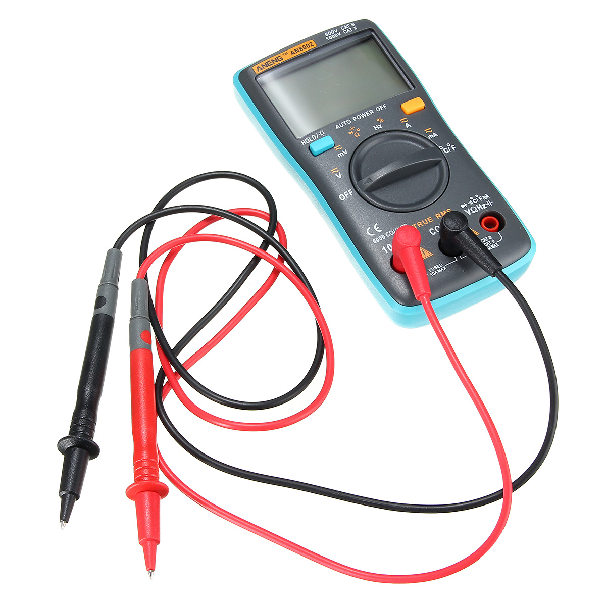 ANENG AN8002 Digital Ture RMS 6000 Counts Multimeter AC/DC Current Voltage Frequency Resistance Temperature Tester ℃/℉ - visiocology.com - new york