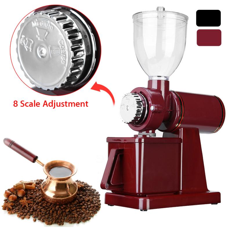 110V Electric Coffee Bean Grinder Adjustable Espresso Mill Blender Grindering Coffe Power Tool 23