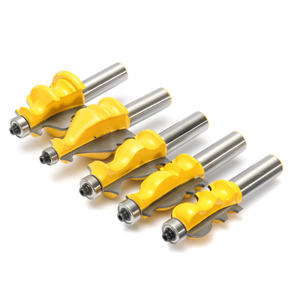 ... Inch Shank Molding Router Bit Set Woodworking Tools | Alex NLD