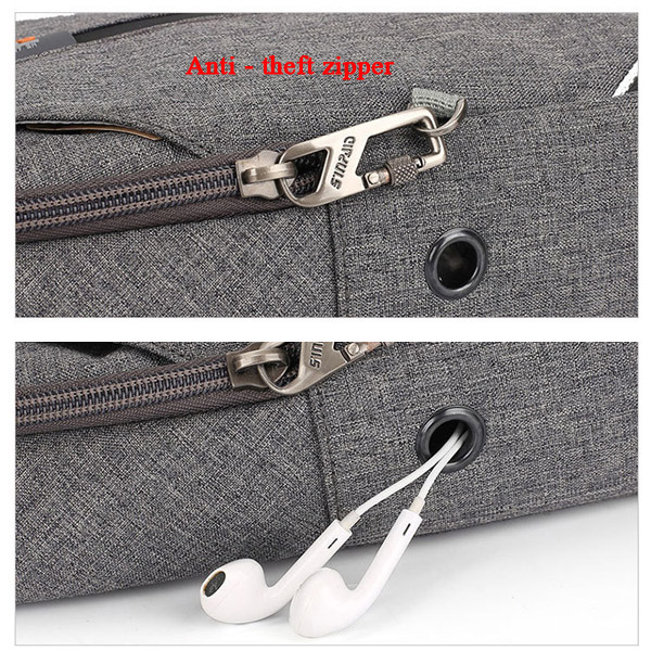 Men Casual Oxford Outdoor Anti-Theft Crossbody Bag Chest Bag