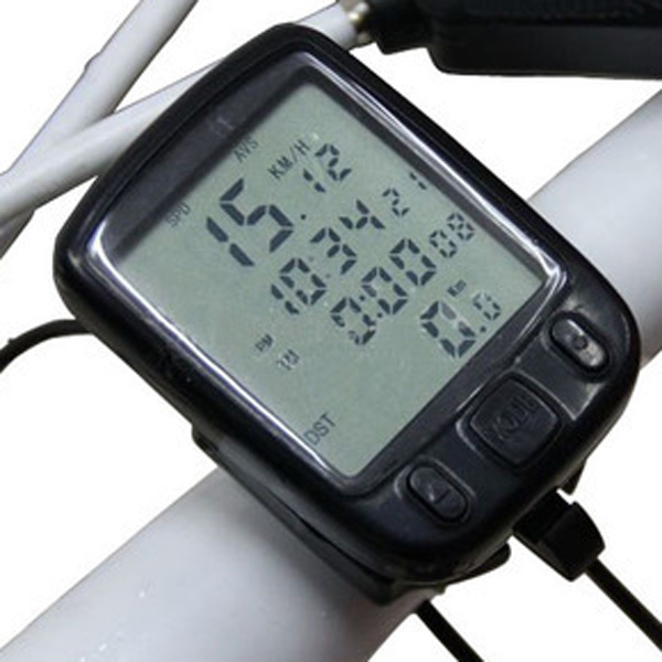 LED Display Cycling Bicycle Bike Computer Odometer Speedometer стоимость