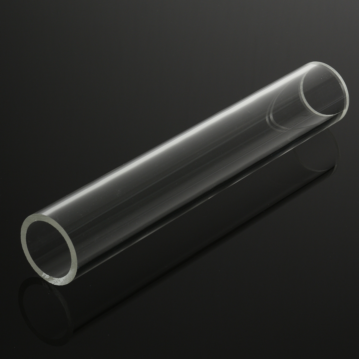 Original 300mm transparent round acrylic hollow tube for Buy plastic pipe