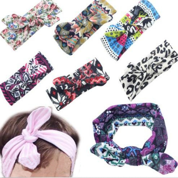 Kids Girl Baby Toddler Flower Headband Hair Wear Floral Colorful Infant Bowknot Fabric Accessories (Eachine1) Jacksonville Продам товары