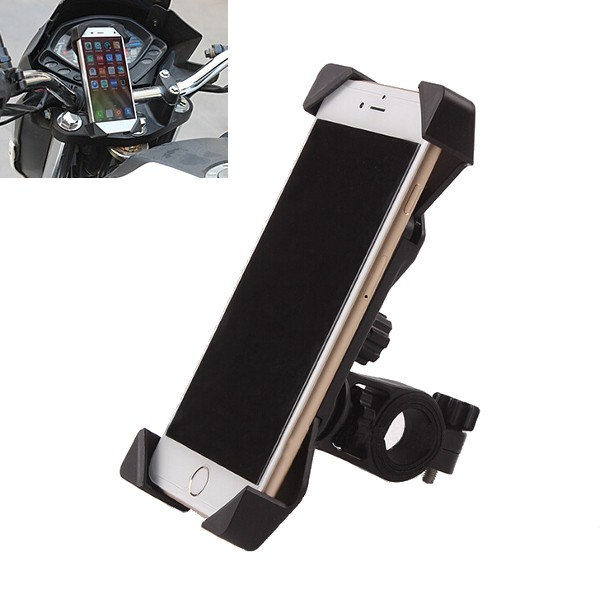3.5-7.0 Inch Phone GPS Stretch Mount Holder For Motorcyle Bike Scooter