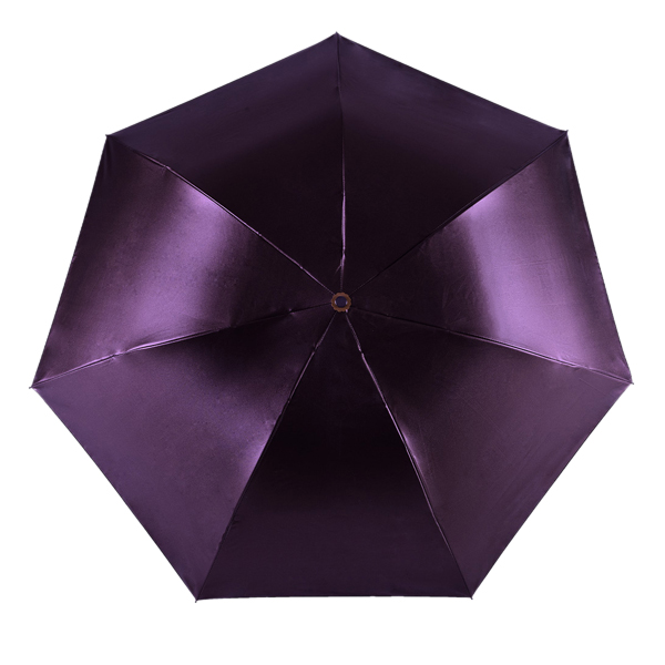 LYZA Portable 3 Folds Sunscreen Pencil Umbrella Rain Umbrella Foldable Sun Umbrella