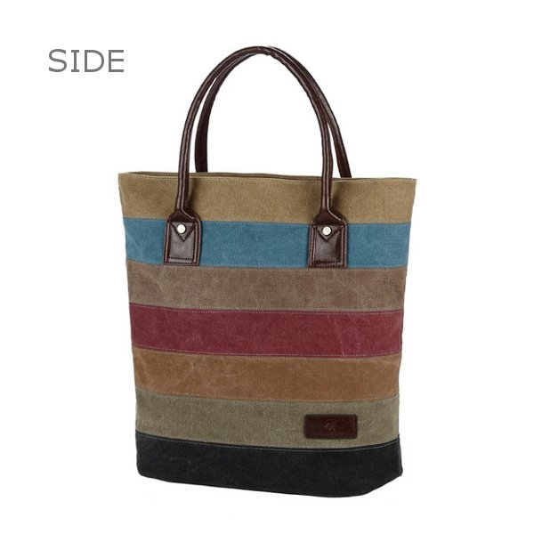 Canvas Stripe Bags