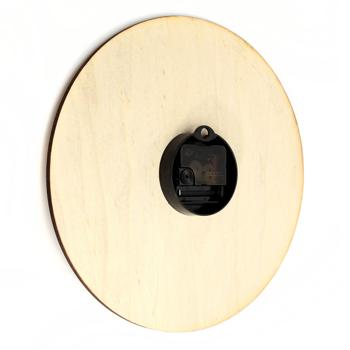 Retro Wooden Clock