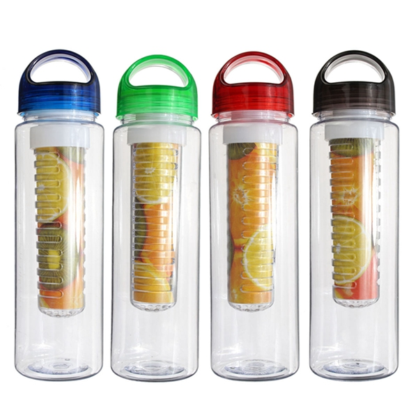 700ML Fruit Water Cup Fuzer Camping Infusing Infuser Water Bottle Sports Health Maker