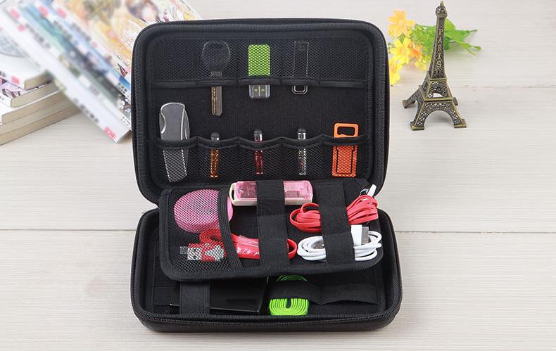 Universal Large Capacity Multi-layer Portable Shockproof Waterproof Digital Accessories Storage Bag