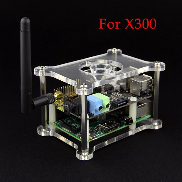 Supstronics X300 Multifunction Expansion Board With Case For Raspberry Pi 2 Model B/B+ от Banggood INT
