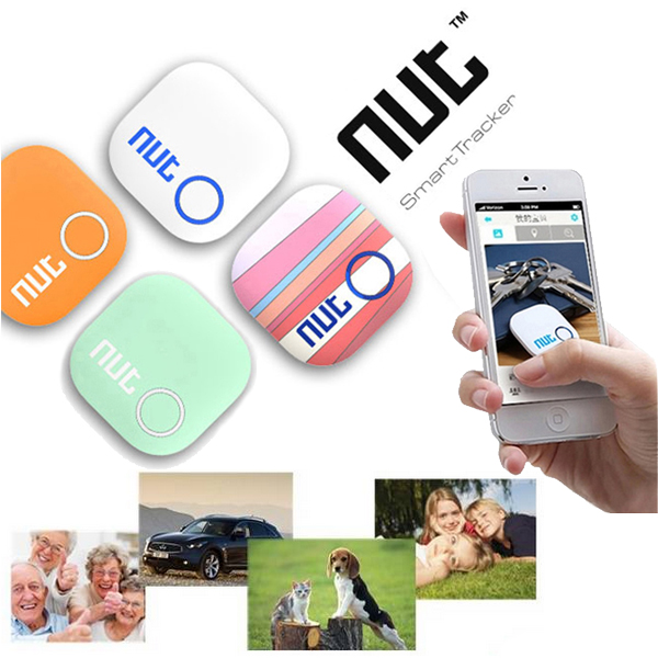 Mini Smart Patch Alarm Tag Bluetooth Nut 2 Tracker Locator Anti Lost Key Finder For iPhone Android etc link 491 bluetooth v4 0 self timer anti lost device for android iphone black