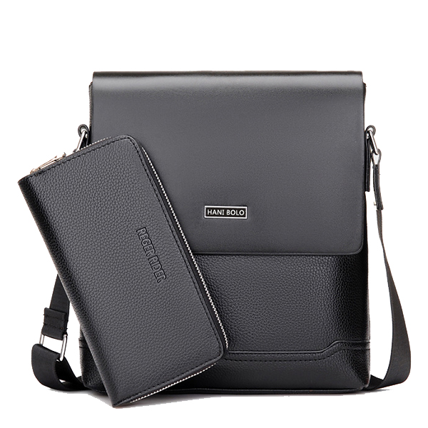 Office Business Messenger Bag Waterproof Crossbody Shoulder Bag for Men