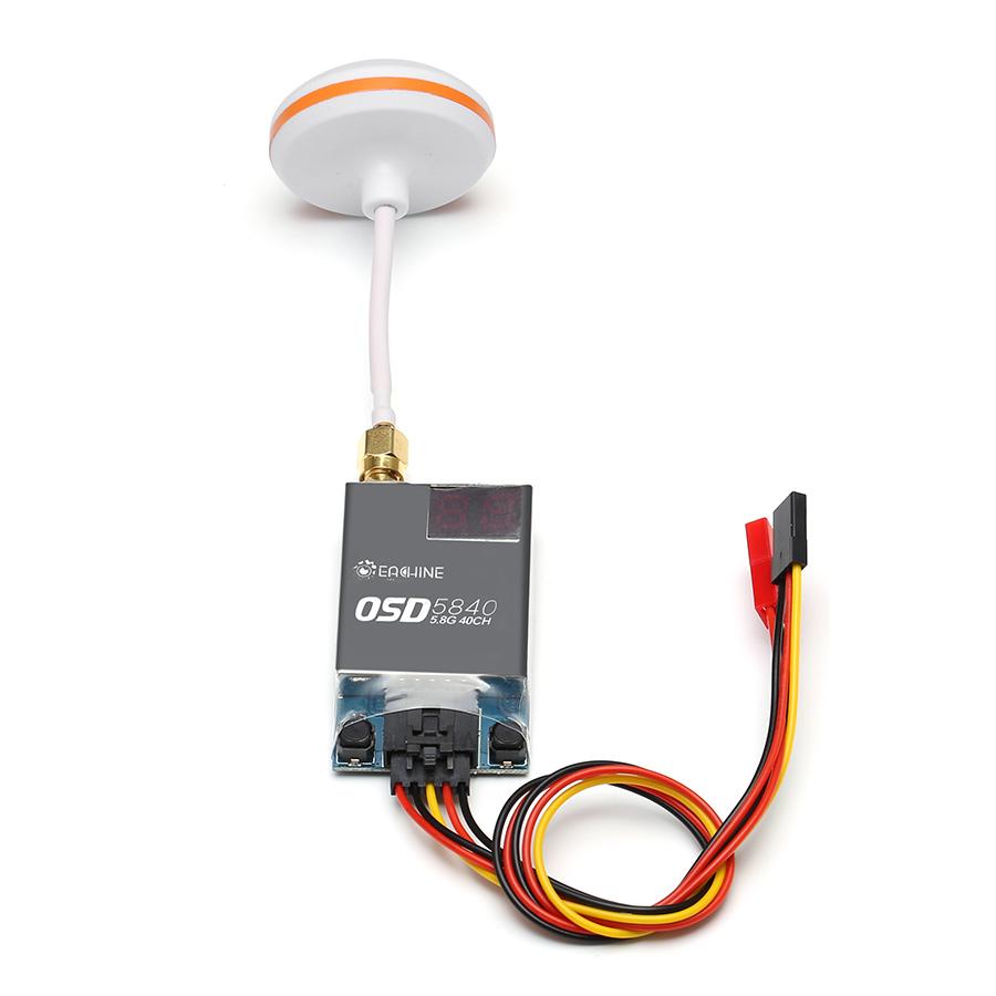 Eachine OSD5840 5.8G 600mw 40CH AV Transmitter Module Build in OSD