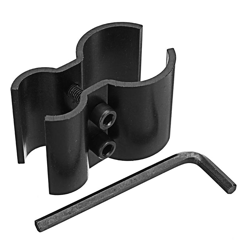 Tactical Dual Barrel Ring Barrel Mount Clamp Holder for Flashlight Torch Scope Laser Sight 19