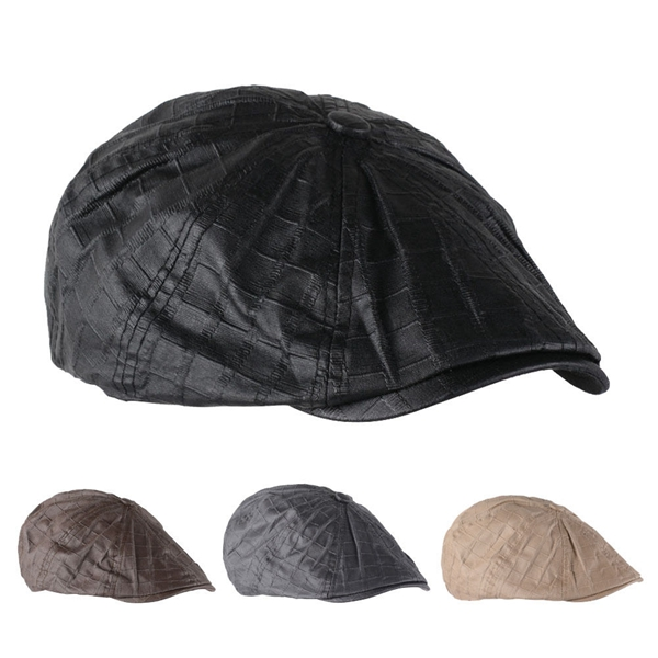 Men Cotton Octagonal Cap Outdoor Casual Plaid Newsboy Beret Painter Cap luxury brand new mink fur ball cap winter hat for women girl s wool hat knitted cotton beanies cap brand new thick female cap