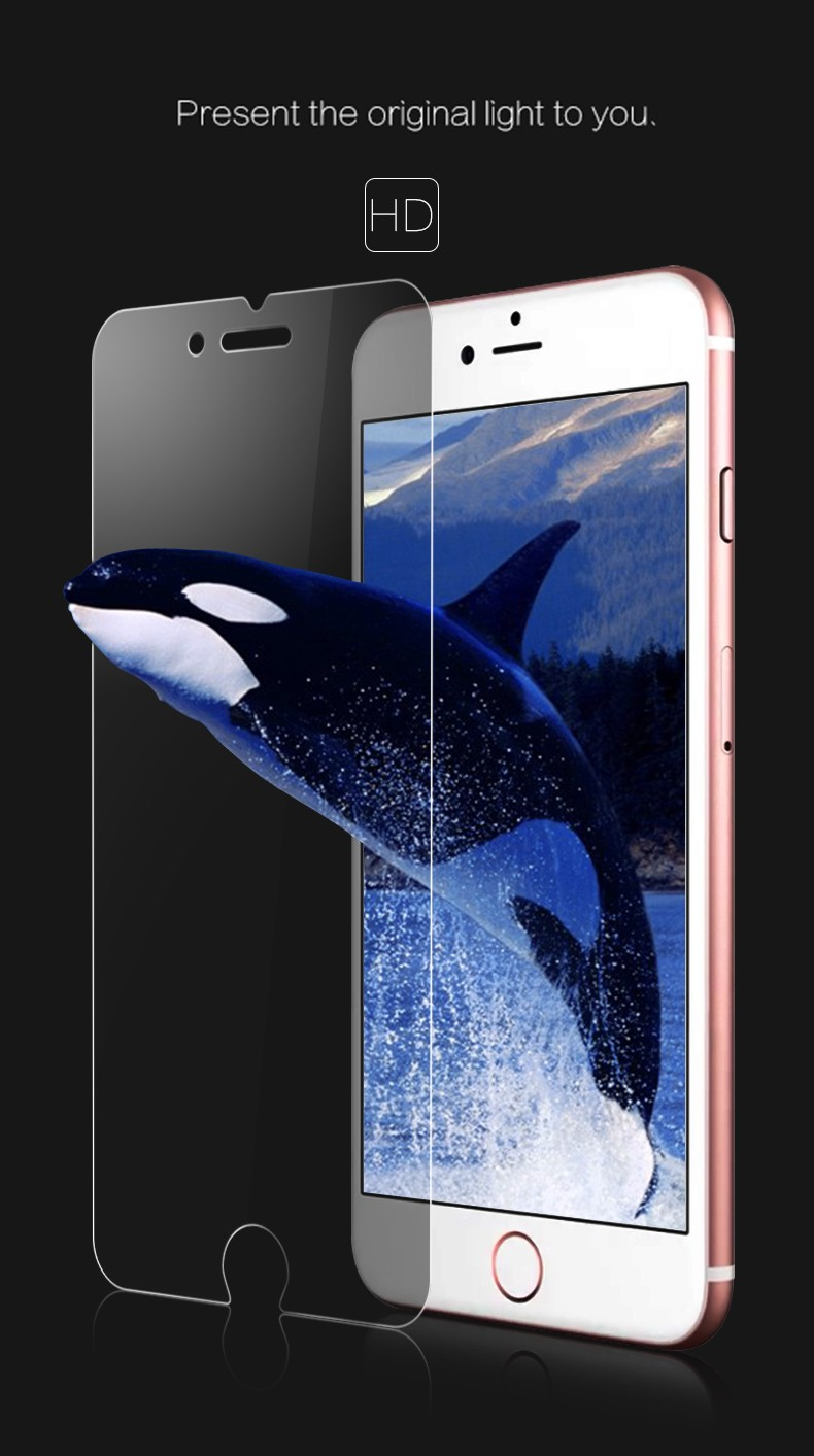 Remax Anti-Broken 3D Touch Tempered Glass Protective Film Screen Protector For iPhone 6 6S 4.7 inch