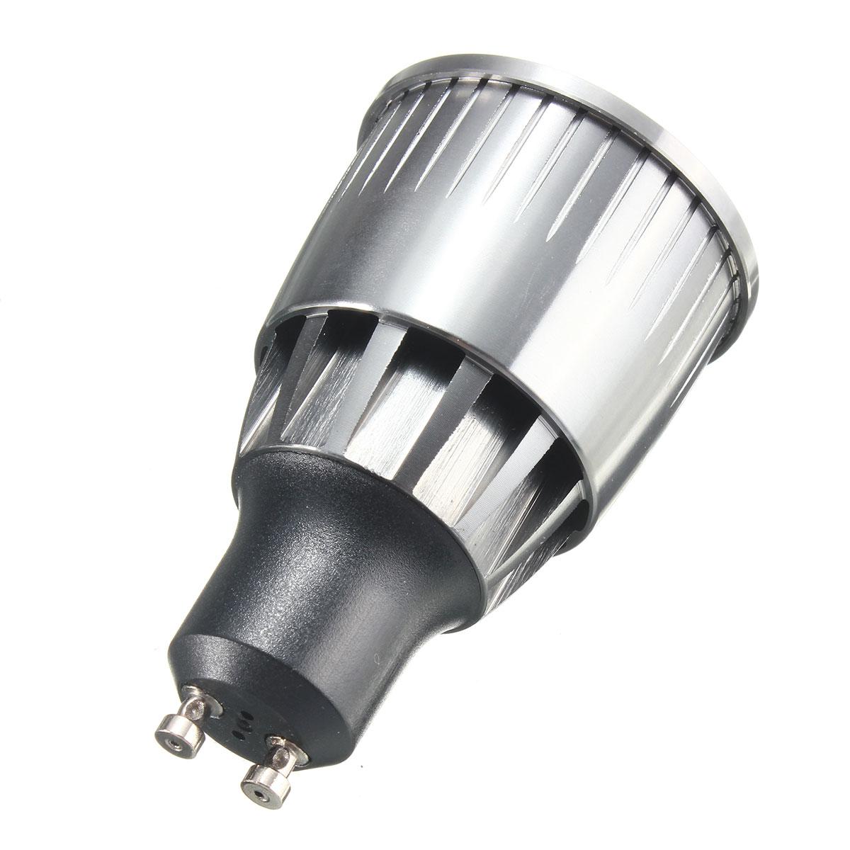 led ultra bright dimmable 7w 600lm gu10 cob led spot light bulb ac 110 220v sale. Black Bedroom Furniture Sets. Home Design Ideas