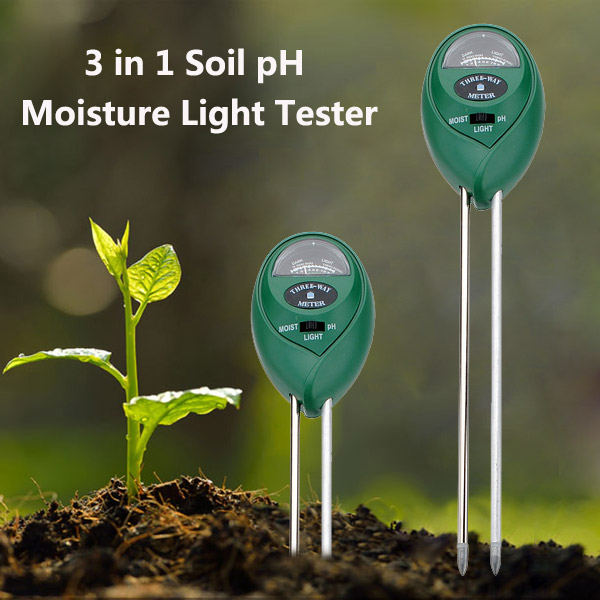 3 in1 Plant Flowers Soil PH Tester Moisture Light Meter ndefo okigbo the mechanics of construction soil