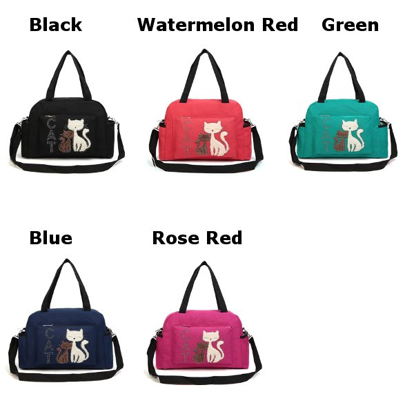 Cat Canvas Bags