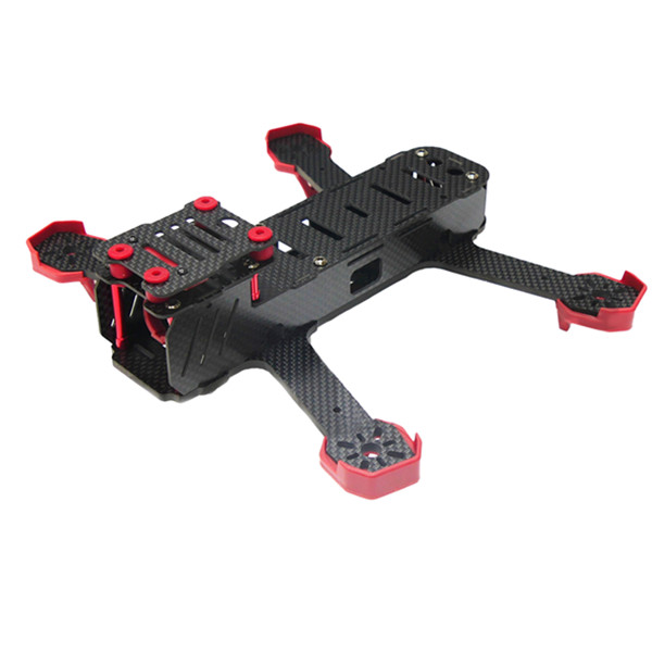 DALRC DL220 220mm 4-Axis 3.5mm Pure Carbon Fiber Mini Violent FPV Racing Frame diy fpv mini drone qav210 zmr210 race quadcopter full carbon frame kit naze32 emax 2204ii kv2300 motor bl12a esc run with 4s