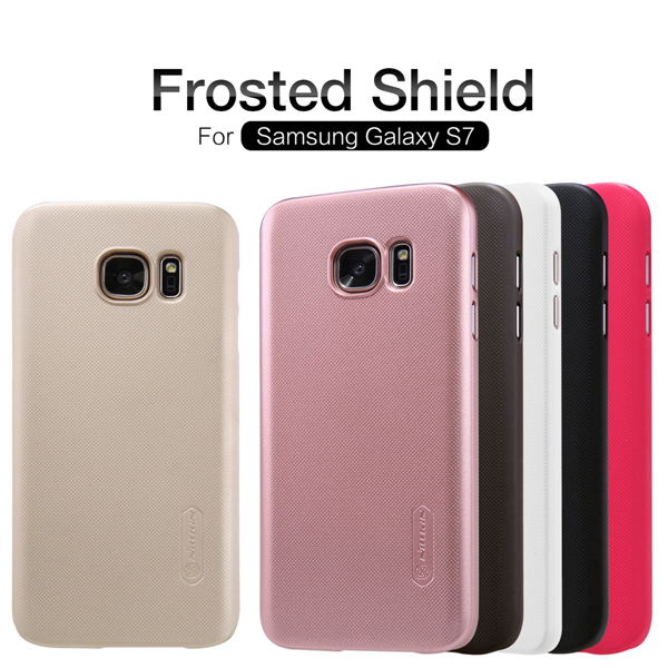 Nillkin Super Frosted Shield Matte Case PC Hard Cover For Samsung Galaxy S7 от Banggood INT