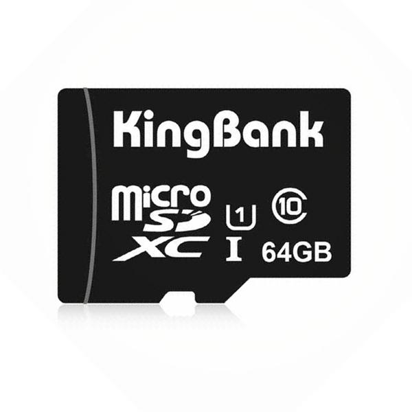 KingBank 64GB Class10 U1 TF Micro SDHC TF Card Memmory Card