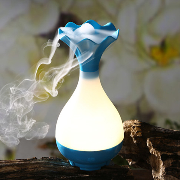 Jade Vase USB Humidifier Ultrasonic Aromatherapy Diffusers Spray Mist Air Purifier
