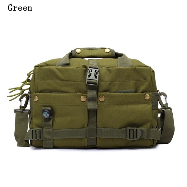 Men Bag, Outdoor Tactical Sport, Travel Oxford Camera, Multifunctional Crossbody Bag Handbag