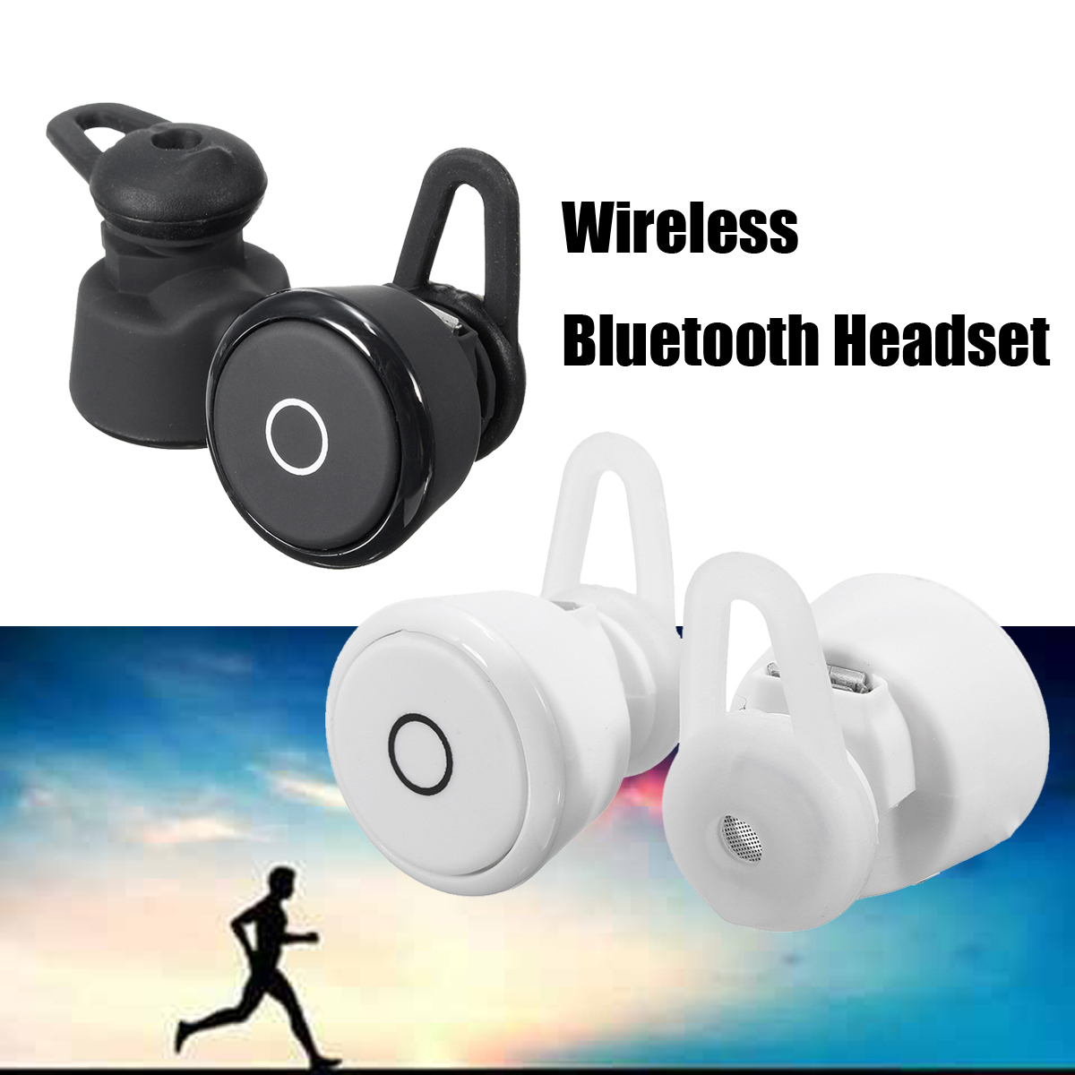[True Wireless] T6 Mini HiFi TWS Double Bluetooth Earphones Stereo Wireless Earbuds Headphones