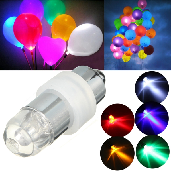 Mini Waterproof Flashing LED Balloon Light Bulb Wedding Birthday Party Decor от Banggood INT
