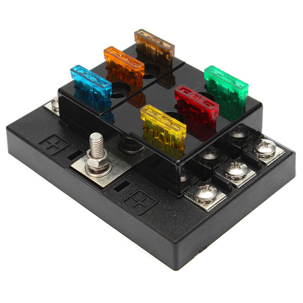 4 way 12v dc fuse box  4  get free image about wiring diagram