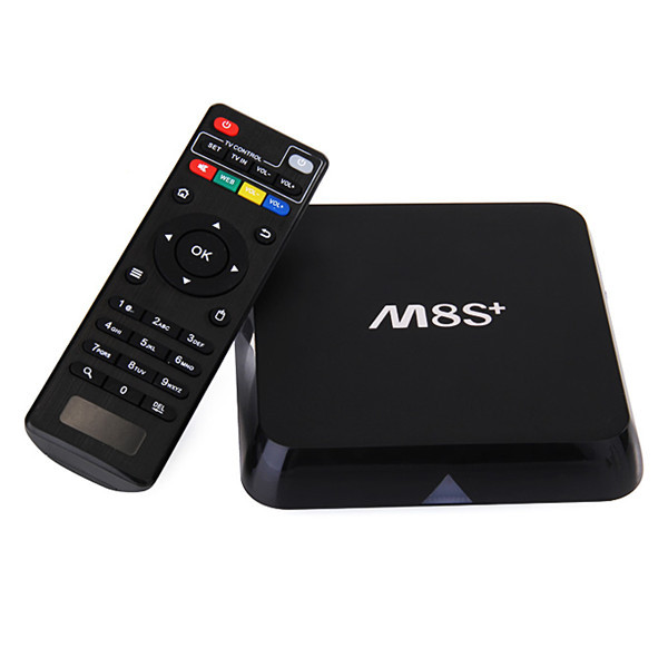 M8S Plus Android 5.1 4K Amlogic S812 Quad Core 2GB/8GB 2.0 GHz 4.4 HD 2.4G/5G Gigabit LAN WIFI BT4.0 TV Box Android Mini PC смартфон micromax canvas juice 4 q465 gold quad core 1 3 ghz 5 hd ips 1280 720 2 gb 16 gb 8mpx 5mpx 4g 3900mah 2 sim android 5 1