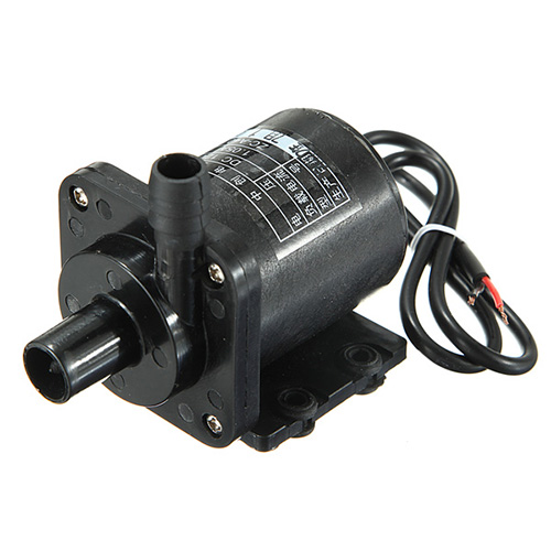 DC 12V 1A Powerful Micro Brushless Magnetic Amphibious Appliance Water Pump mini water pump zx43a 1248 plumbing mattresses high temperature resistant silent brushless dc circulating water pump 12v 14 4w