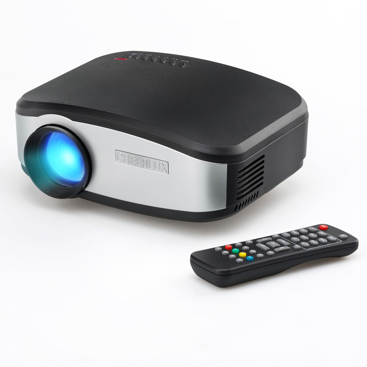 Cheerlux c6 mini lcd portable led projector 1080p hd for Portable projector hdmi 1080p