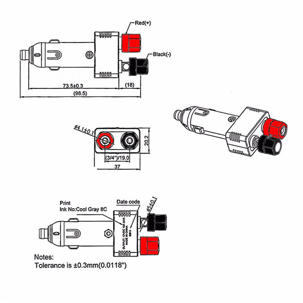 12v power socket wiring diagram