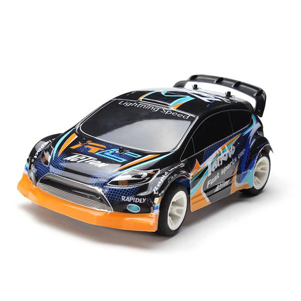WLtoys A242 1/24 4WD 2.4G Rally Car 35km/h 7.4V Battery