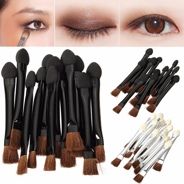 Sponge eye makeup applicators