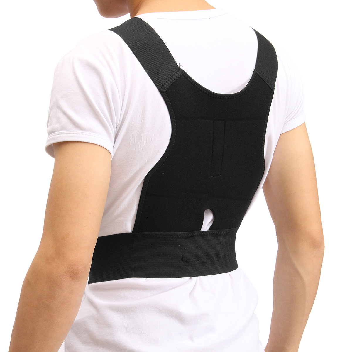 Adjustable Back Support Posture Corrector Belt Shoulder