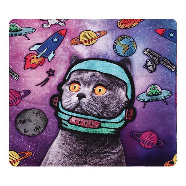 Creative 3D Galaxy Space Cats Throw Pillowcase Home Sofa Office Car Cushion Cover Gift at Banggood