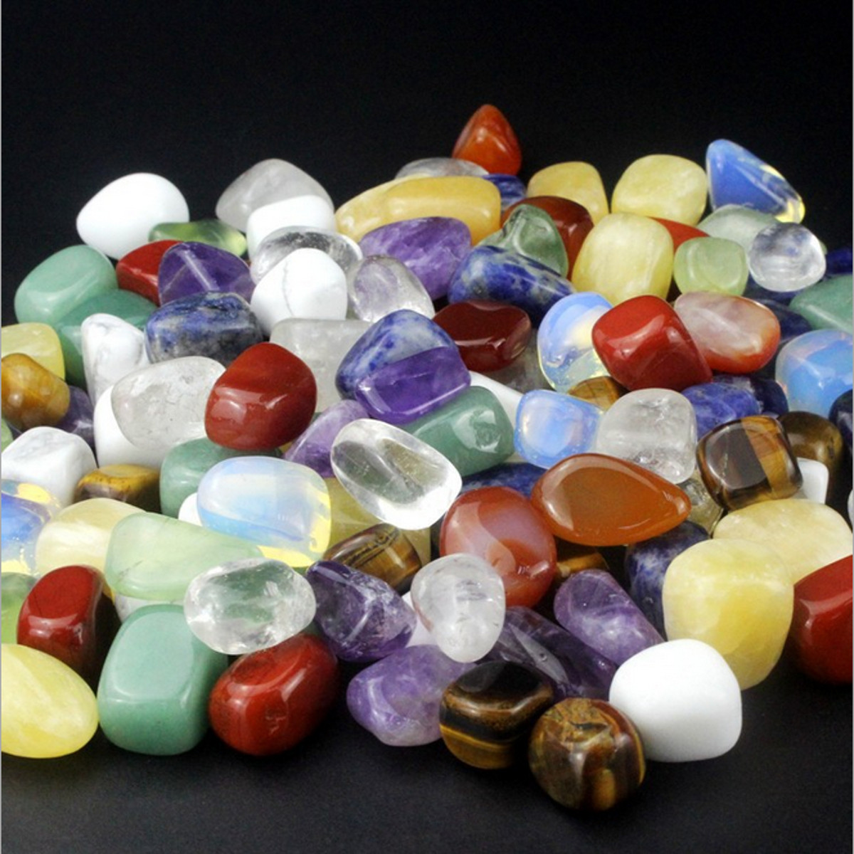 1/2 lb Semi Natural Crystal Stone Decoration Decor Healing Health